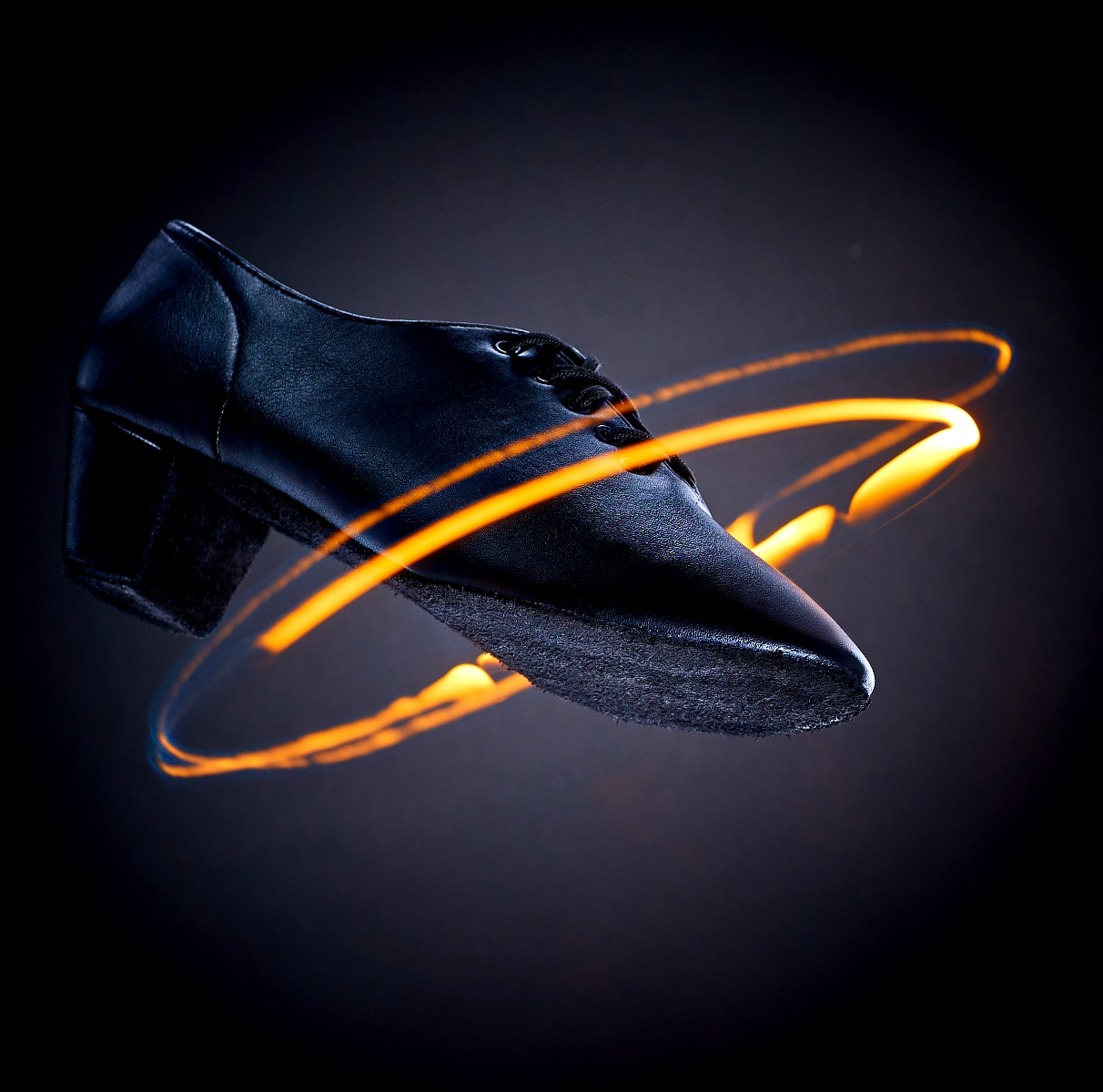 Dance Shoe with real fire effect for Burn the floor campaign